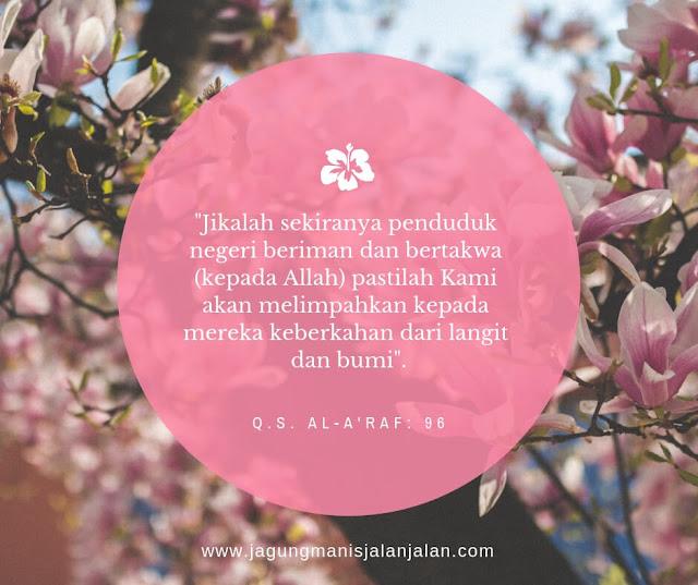 Q.S. Al-A'raf 96