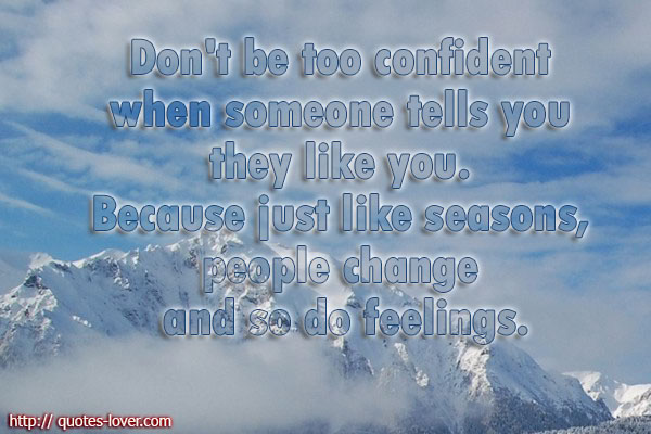 Like Seasons People Quotes. QuotesGram