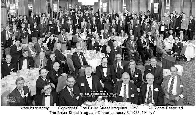 The 1988 BSI Dinner group photo