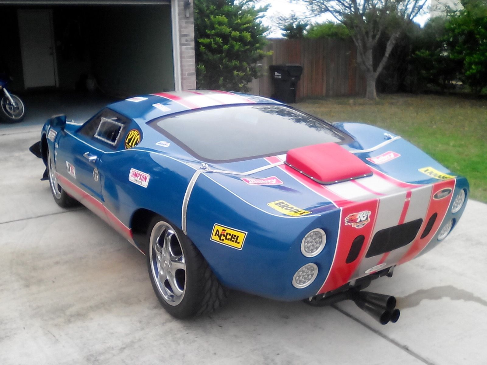 Daily Turismo Ej25 Powered Ford Gt40 Kit 1965 Fiberfab Avenger