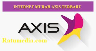 Paket internet murah AXIS Terbaru 2019
