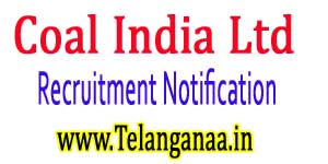 Coal India Ltd CIL MT Recruitment Notification 2017