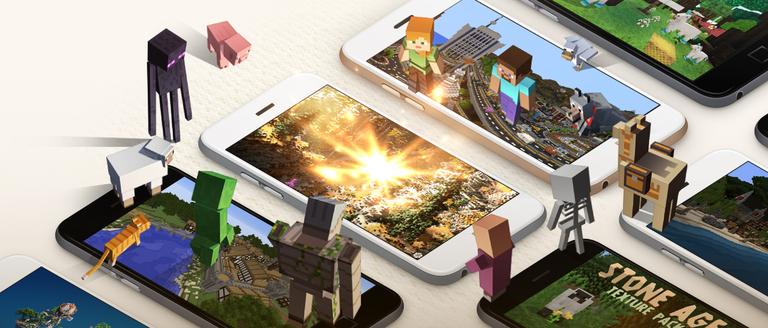 Minecraft anuncia su actualización 1.1 marketplace: descarga y juega contenido de la comunidad