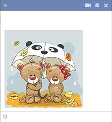 Teddy Bear Pair Emoji