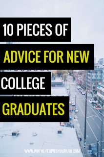 Life after college can be hard, which is why I wanted to share the 10 pieces of advice I wish someone had told me when I graduated college. New grad advice from where to live to how to write the perfect resume.