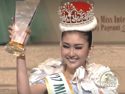 FOTO : Kevin Lilliana dari Indonesia Jadi Juara Miss International 2017