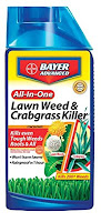 Bayer Advanced 704080 All-in-1 Lawn Weed and Crabgrass Killer