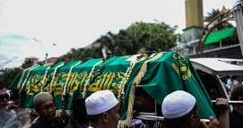 Pemakaman Pembunuhan Sadis di Pulomas Jakarta Timur
