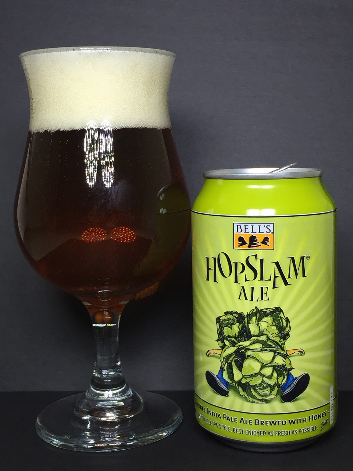 Threw Red Butter S Beer Reviews Bell S Hopslam