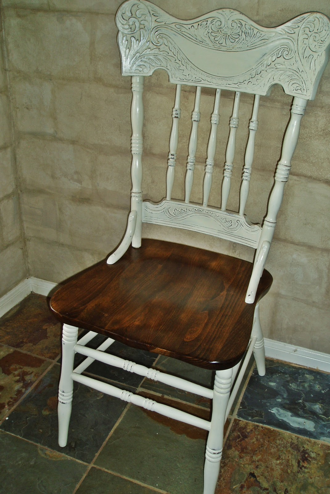 White French Dining Chairs