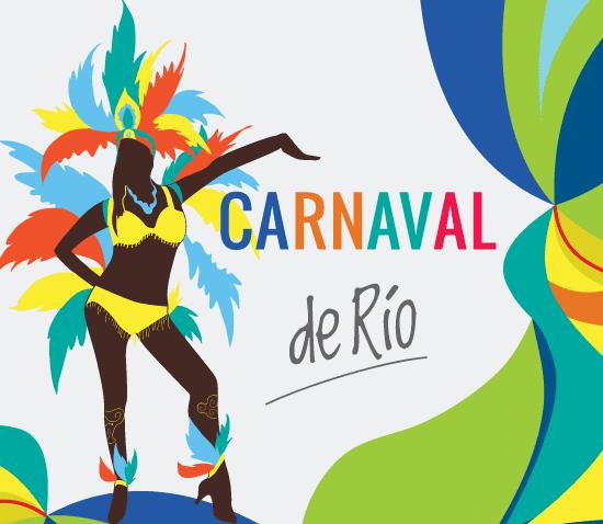 Cartel Bailarina Carnaval