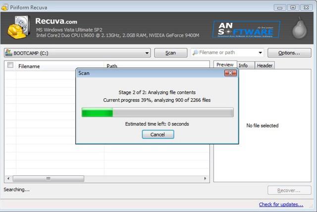 Free Download Recuva Recovery Terbaru - Gayou Cyber