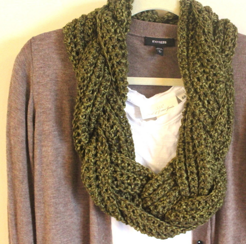 Etsy Shop Now Online How To Make Infinity Scarf With A Twist