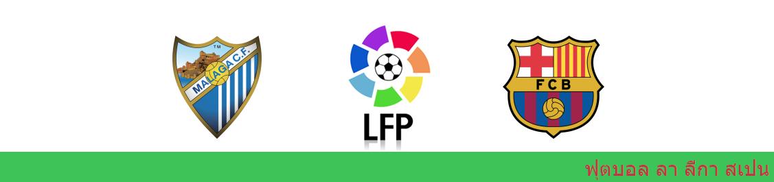 แทงบอล วิเคราะห์บอล ลา ลีกา ระหว่าง มาลาก้า vs บาร์เซโลน่า