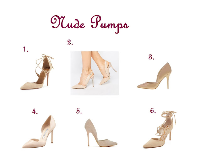 Shoe Essentials : The 5 Styles of Shoes You Should Have in Your Closet Nude Pumps