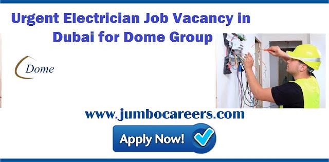 electrician jobs in dubai salary 2018, electrician jobs in dubai companies, electrician jobs in uae companies