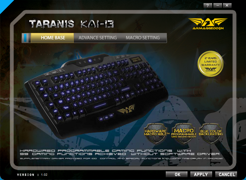 Unboxing & Review: Armaggeddon Taranis Kai-13 Gaming Keyboard 68