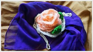 free crochet tiny doily motif