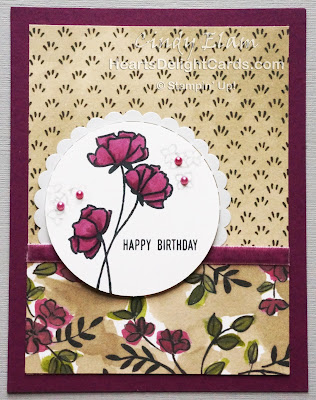 Heart's Delight Cards, Love What You Do, Happy Birthday, Stampin' Up!