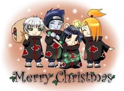 Christmas Greetings from Naruto Anime Jokes Collection