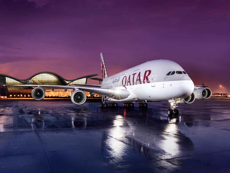 Qatar airways per month in Qatari Riyals ~ Angel