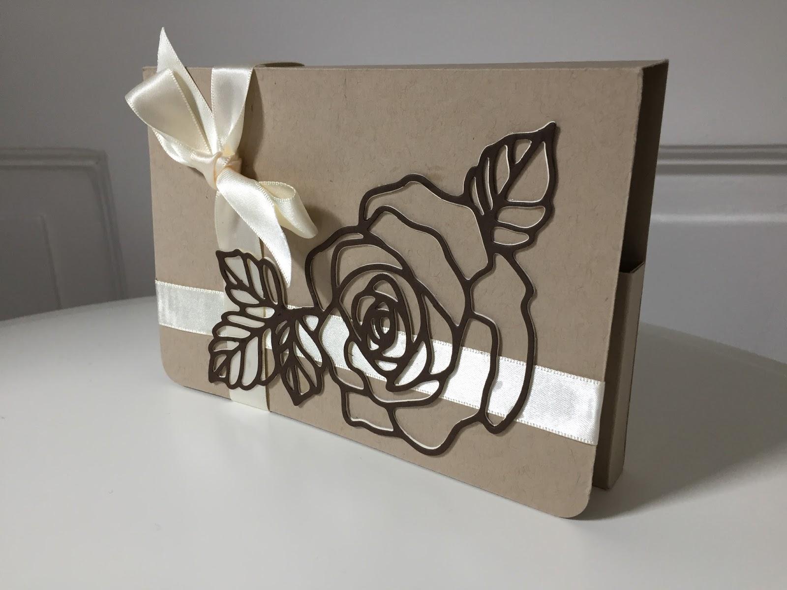 Craftycarolinecreates Handmade Card Gift Set Using Rose Wonder By
