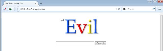شرح محرك البحث Not Evil على الديب ويب