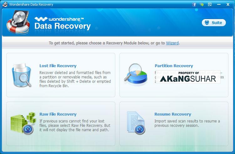 Download Wondershare Data Recovery 5.0.3.13 Full Version