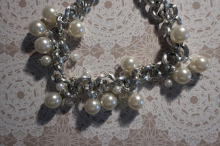 Łańcuch z perłami DIY
