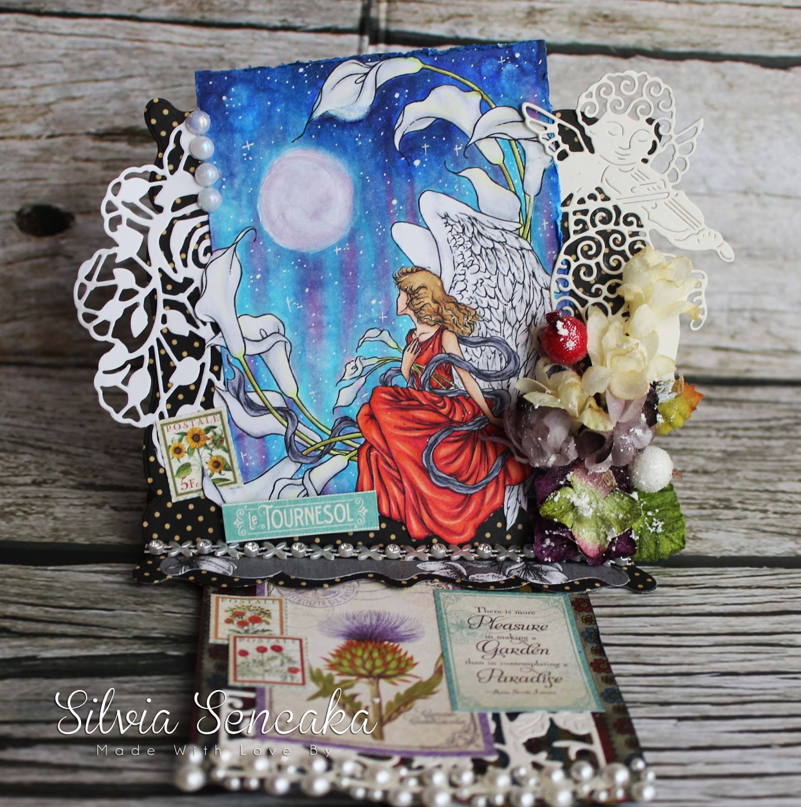 Aurora Wings Challenge Blog Challenge 50 My Secret Garden