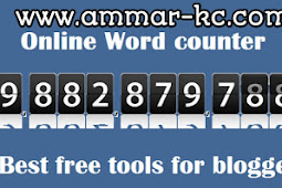 Cara Membuat Halaman Word Count Tools Di Blog