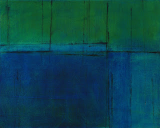 Image of the abstract painting entitled Qualia by artist Martha Hope Carey