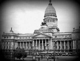 O Imponente Prédio do Congresso, em Buenos Aires