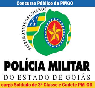 Apostila PM de Goias Concurso 2016 Soldado e Cadete PM/GO