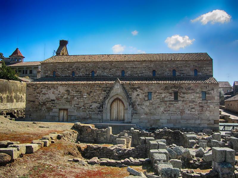 Vestigíos arqueológicos em Idanha a Velha