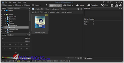 ACDSee Ultimate 10.4 Build 912 Terbaru Full Version