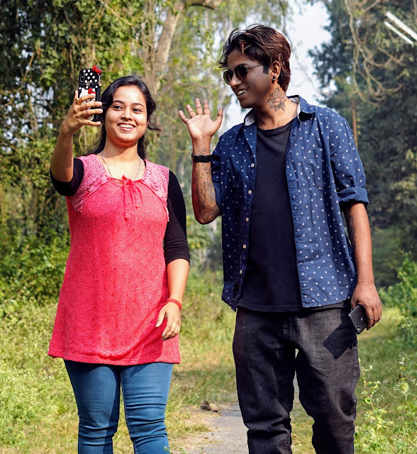 Sourajit Saha With Rituparna Saha 11
