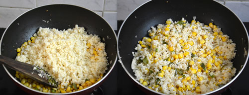 Couscous with Sweet Corn Recipe