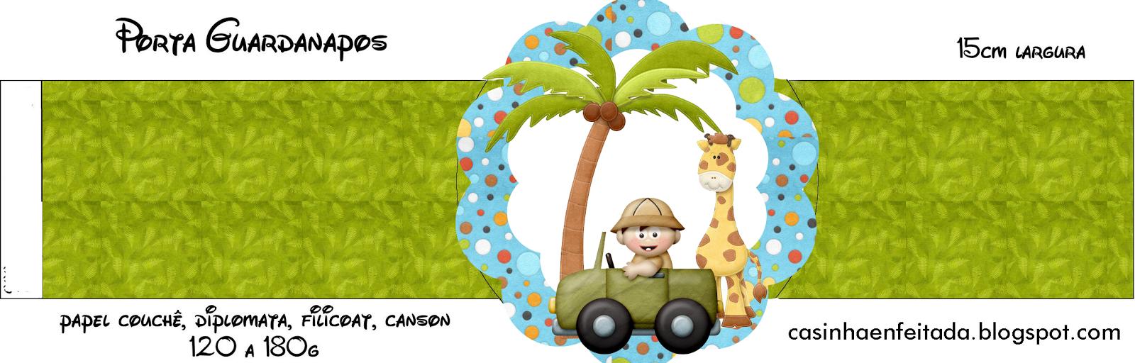 Casinha De Crianca Kit Festa Safari Para Imprimir Gratis