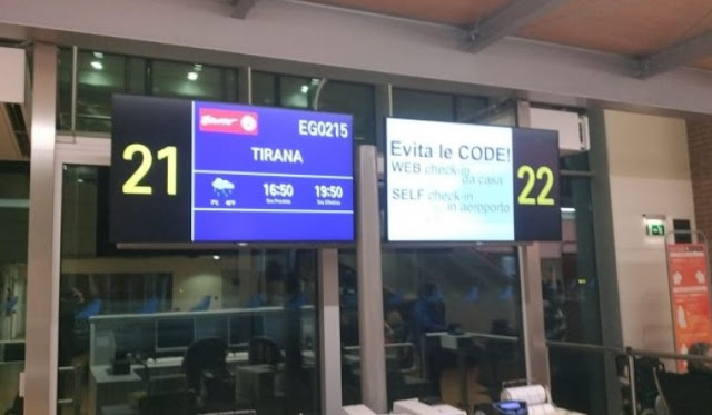"Fly Ernest airline ""forgets"" the Albanians in Venice: We have no explanation"