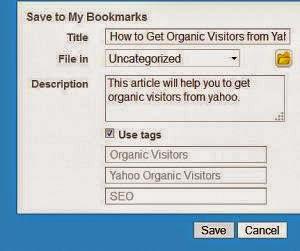 yahoo bookmark tutorial.