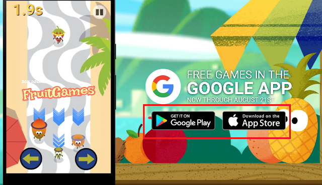 Download Google Doodle Game Buah 2016