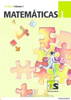 Libro de TelesecundariaMatemáticasIPrimer gradoVolumen ILibro para el Alumno2016-2017