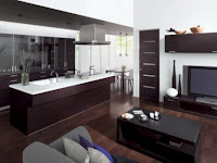 Wohnzimmer Mit Offener Küche Bilder