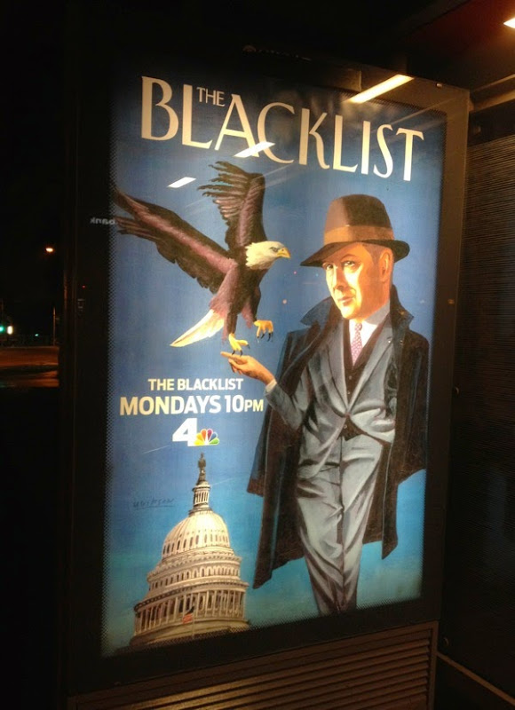 Blacklist season 2 The New Yorker magazine poster