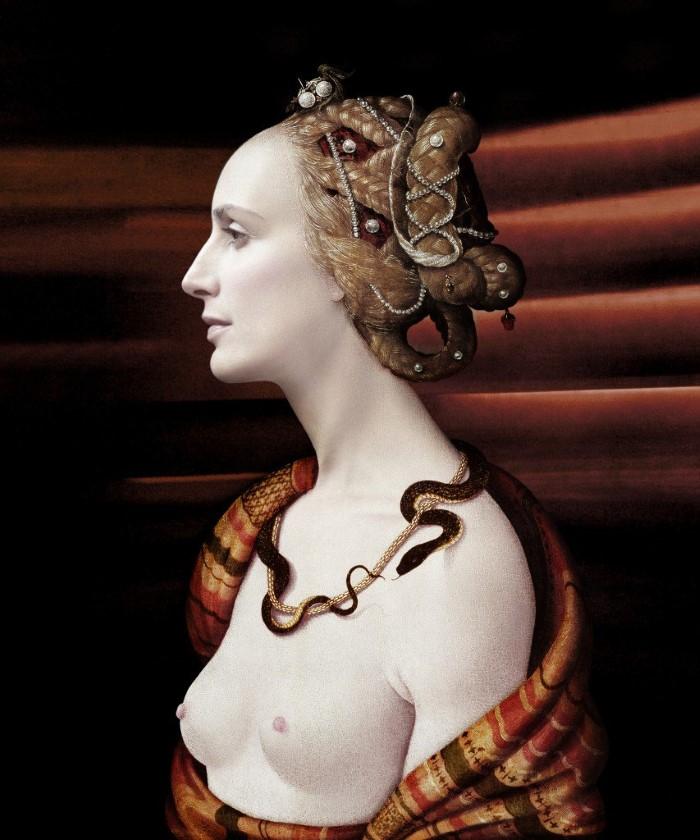 Связь между древним и современным искусством. Sabine Pigalle