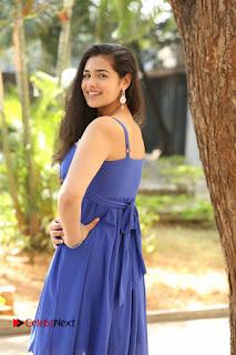 Actress Prasanna Stills in Blue Short Dress at Inkenti Nuvve Cheppu Movie Platinum Disc Function  0036.JPG