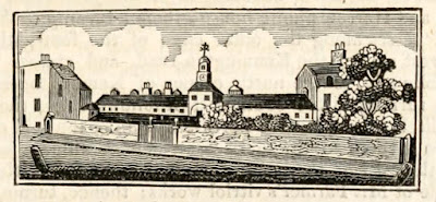 The Asylum for Female Orphans 1823 from The History   and Antiquities of the Parish of Lambeth by T Allen (1827)