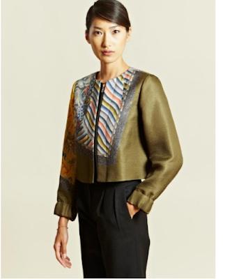 Model batik blouse cocok buat kerja kantor