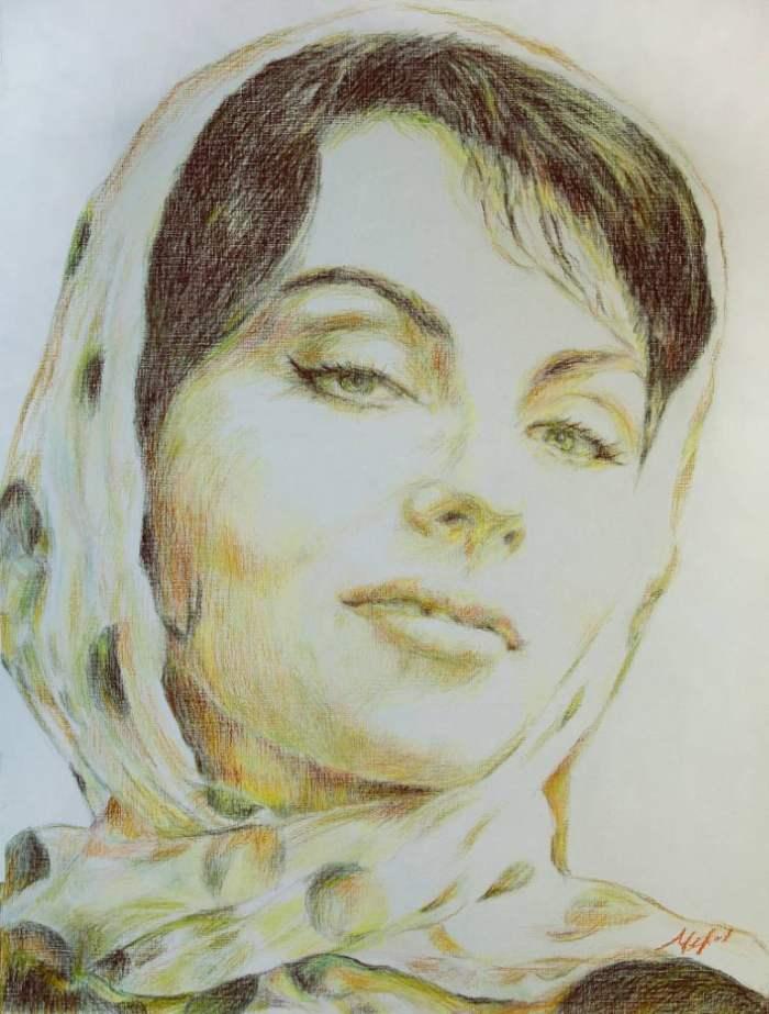 Российский художник. Лилия Черная